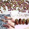 Melhor Strass Cristal Rainbow ss3-ss30 decorações para Nail Art 3d, plana Volta Non Hotfix Cola em Nail Art 3d ou talão diy