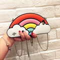 Free Shipping New Rainbow Silicone Tide Mobile Phone Case for iphone6 6s 6s plus 7 7plussell like hot cakes
