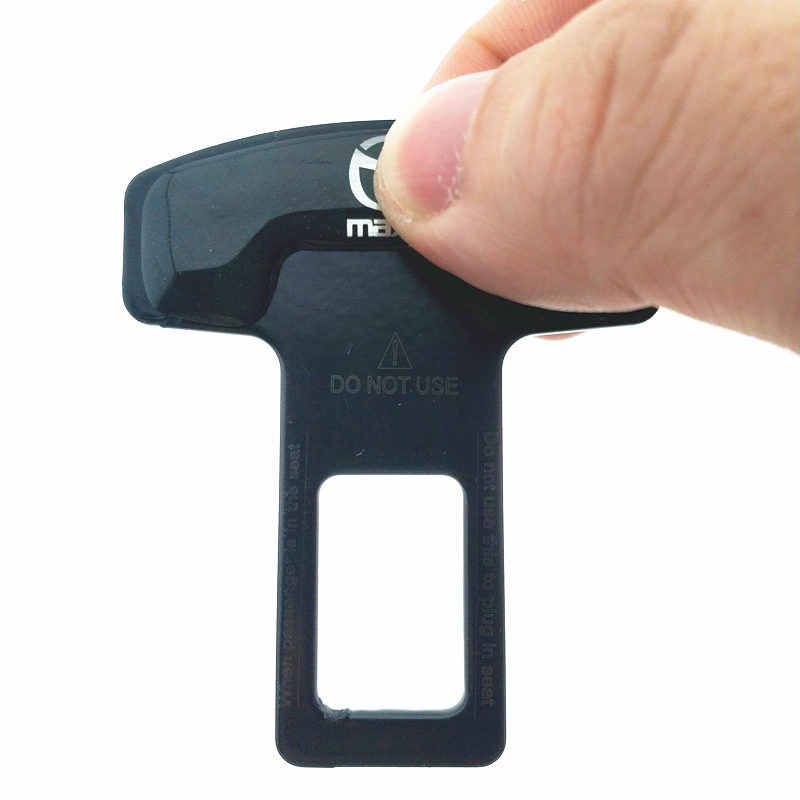 2 Pcs/lot Paduan Seng Berkualitas Car Seat Belt Klip Sabuk Pengaman Plug untuk Mazda Axela 6 3 CX-3 CX-4 CX-5 CX-8 MX-5 Olahraga Otomatis