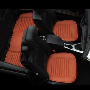 Image 2 - Cojín para asiento de coche, alfombrilla individual de bambú, funda para asiento de coche, diseño clásico Universal