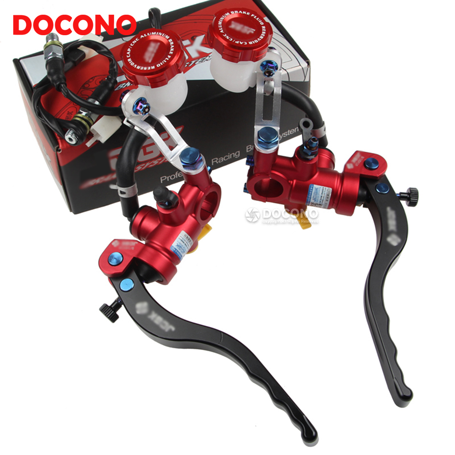 Motorcycle CNC aluminium modified direct push brake pump For honda shadow xr cb400 dio nc750x xr 250 hornet 600 cb500x cbr 600