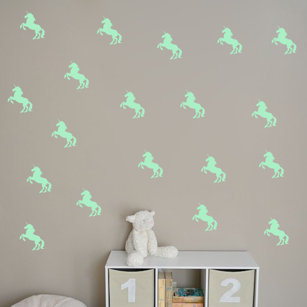 Aliexpresscom Buy Cartoon Little Horse Wall Stickers Wall Decal