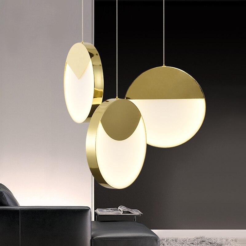 2018 New Postmodern Creative Kitchen Led Pendant light Art Concise Restaurant Coffee Shop Designer Hanging Lights Free Shipping