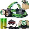 5 LED Headlamps 20000 Lumens High Power LED Headlight T6 4Q5 Camping Head Torch Zoom 4