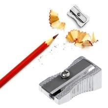 Metal Bevelled Single Hole Pencil Sharpener School Office Stationery