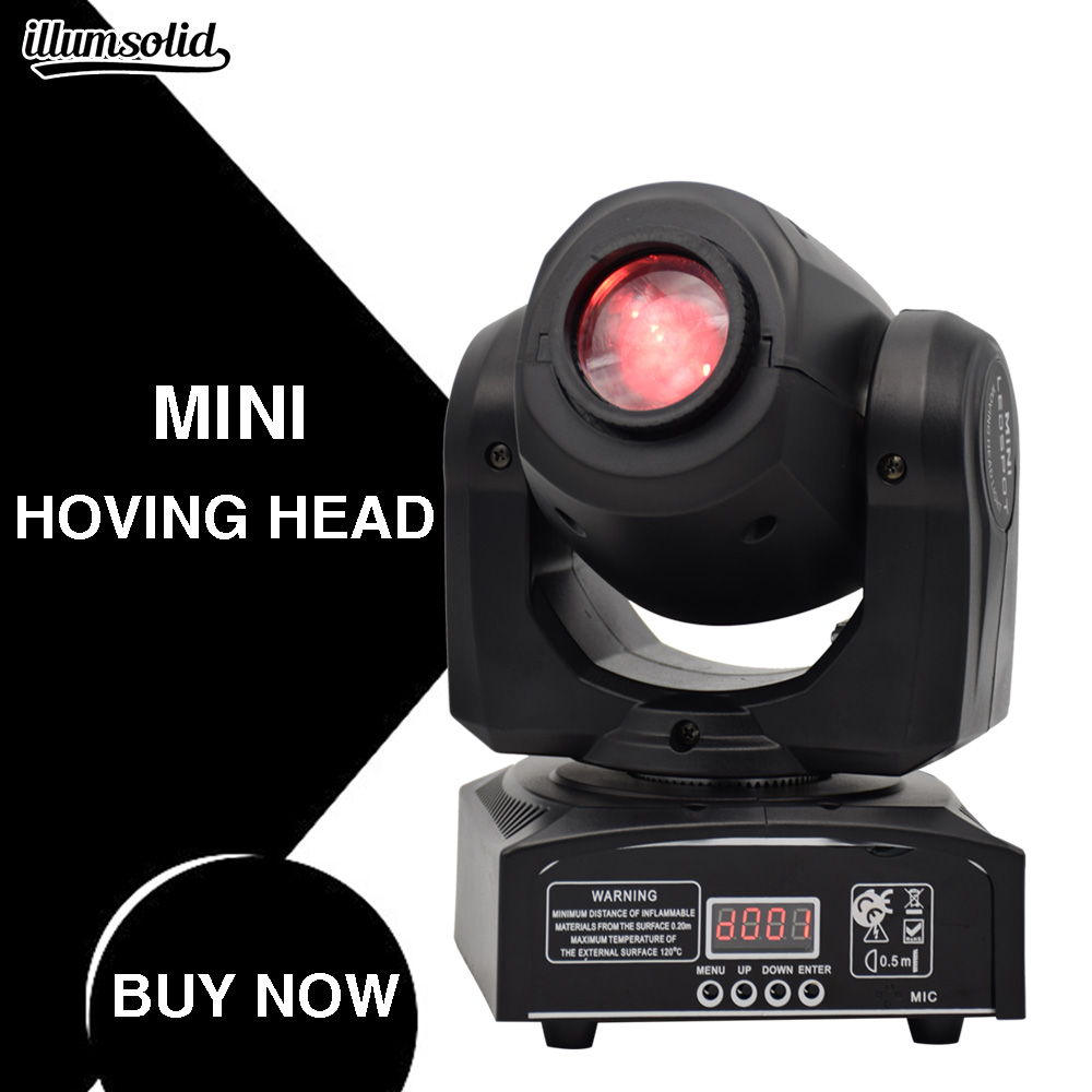 mini 30w beam gobo light moving head stage light led wash head voice