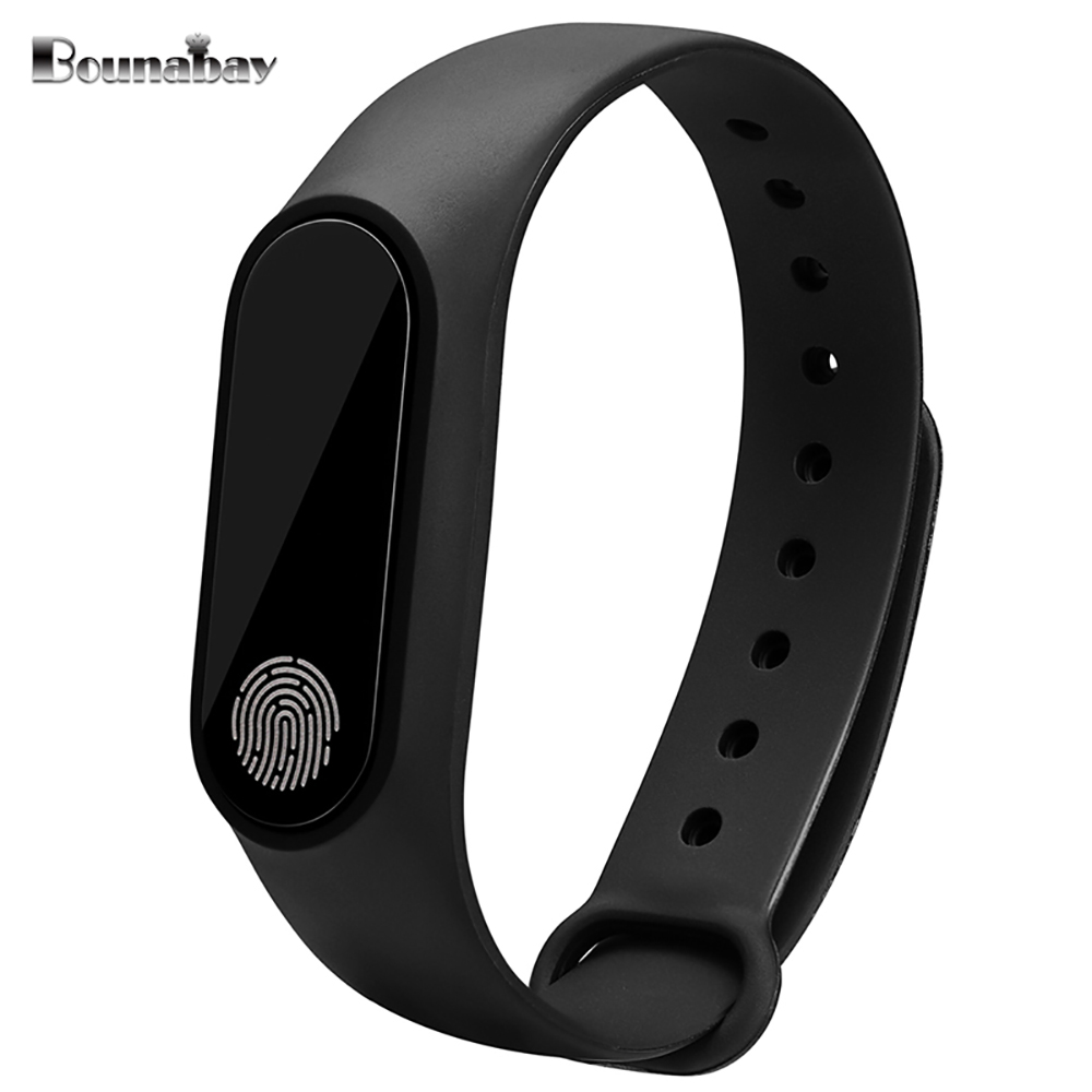 BOUNABAY Heart Rate Smart Bracelet Bluetooth watch for women original ladies watches lady Android apple ios phone woman clocks