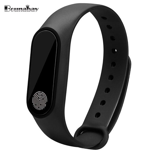 4fb5fac52541 BOUNABAY pulsera inteligente pulsera Bluetooth reloj para las mujeres original  relojes dama Android apple ios teléfono