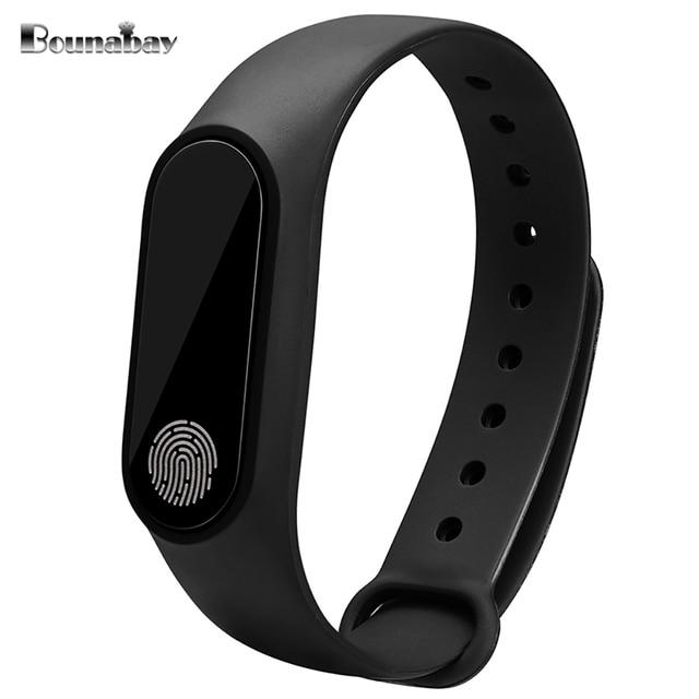 Bounabay сердечного ритма умный браслет bluetooth часы для женщин Оригинальные женские часы леди Android Apple IOS Телефон женщина часы