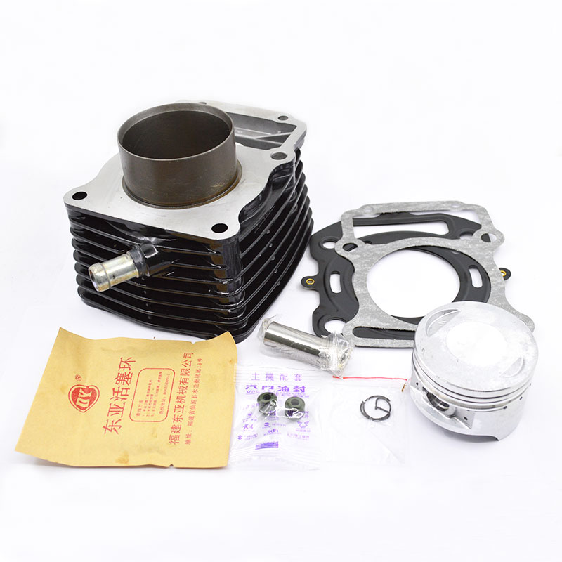 High Quaity Motorcycle Cylinder Kit 63.5 Bore For ZONGSHEN CG200-A CG 200 Tsunami Series Water-cooled Engine Spare Parts motorcycle cylinder kit 67mm bore for shineray cg250 cg 250 250cc air water double cooled engine spare parts