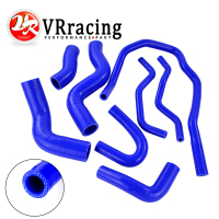 VR RACING Blue Silicone Radiator Coolant Hose kit For VW GOLF GTI 2.0T FSI TURBO MK5 2003 2009 VR LX1305