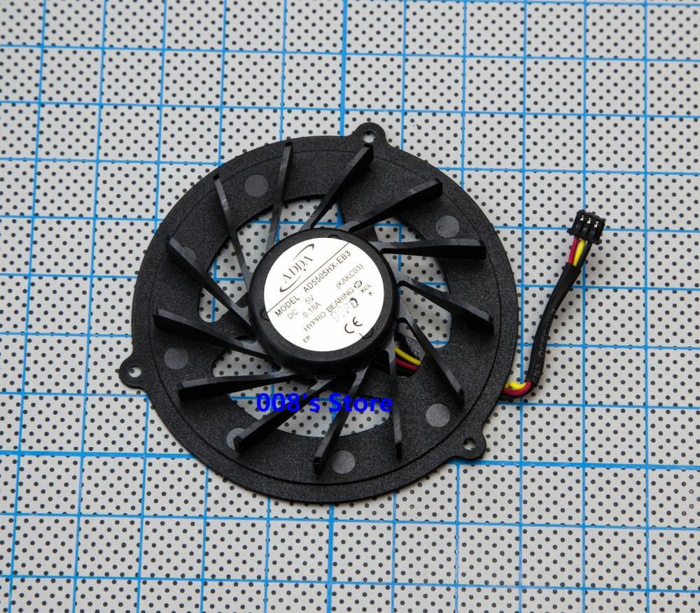 New CPU Cooler Radiator Fan For Acer Aspire 4930 4930G 5530 5530G Packard Bell Easynote LJ61 LJ65 LJ71 LJ75 AD5505HX-EB3 KAKC03