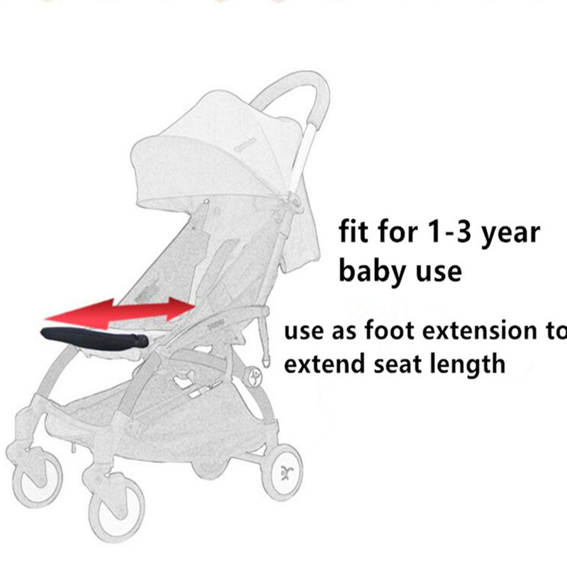 Activity & Gear Yoya/yoyo Stroller Accessories Baby Stroller Footboard Baby Foot Extension Footmuff Stroller Footrest Bumper Bar With Feet Rest Easy To Repair Mother & Kids