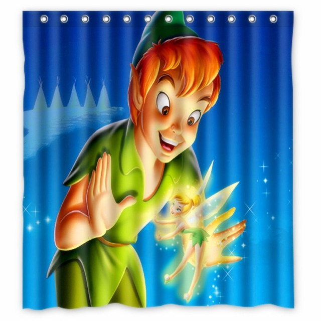 Anime Shower Curtain One Piece Dragon Ball Z Bleach Fairy Tail Naruto Together Peter Pan 66x72 Inch