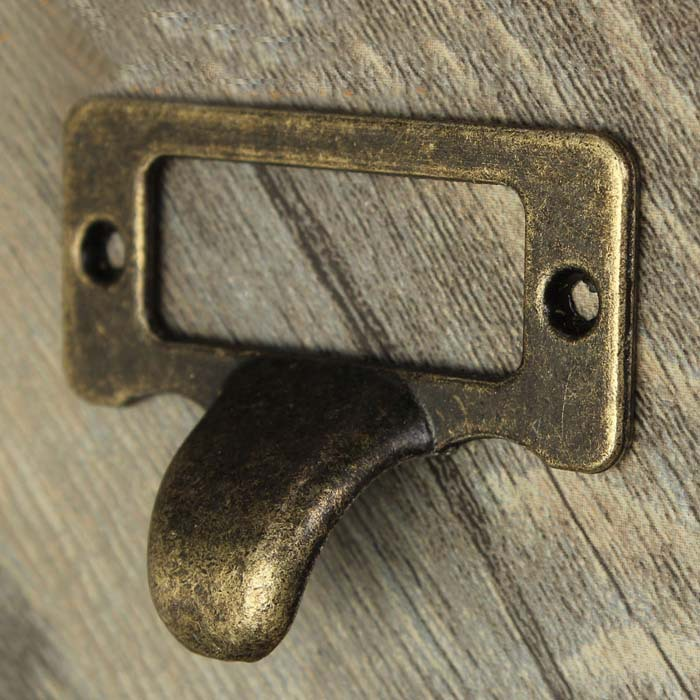 Antique Bronze label frame card holder filing drawer pull handle ...