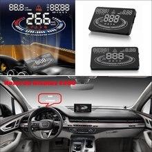 Para Audi Q5 Q7 2015 2016 Proyector De Pantalla Car Head Up Display Saft Conducción-Refkecting Parabrisas