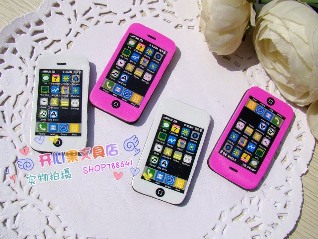 free shipping Wholesale 10set/lotSouth Korean Rubber / Rubber Food / Simulation rubber / cell phone rubber