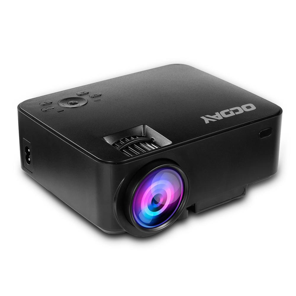 480P 1500 Lumens faible bruit haute sensibilité récepteur à distance anti-poussière lentille intégrée LCD imagerie LED projecteur numérique
