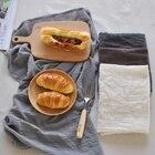 Newest 45*65cm Solid Simple Japanese Style Mat Napkin Cotton Linen Dessert Table Napkins Tea Towels Kitchen Dishcloth Placemats