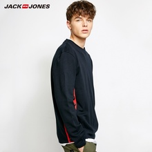Jack Jones MLMR Cotton Letter Printed T-shirt Solid Color Long Sleeve T shirt Tshirt