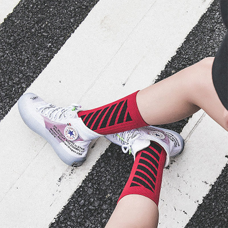 Short Socks Happy Streetwear Fashion High-Quality Hipster Women Hip-Hop Male White Harajuku title=