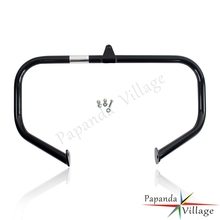 Motorcycle Black 1-1/4 Highway Engine Guard Crash Bar Bumper for Harley Road King Street Electra Glide FLHR FLHX 1997-2014