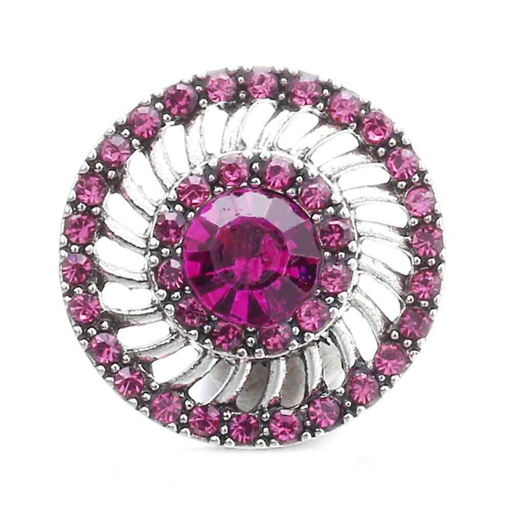 10 sztuk/partia nowy Snap biżuteria 18mm koraliki kwiat zatrzaski metalowe kolorowe 18mm przystawki przycisk biżuteryjny dla Snaps bransoletka DIY biżuteria