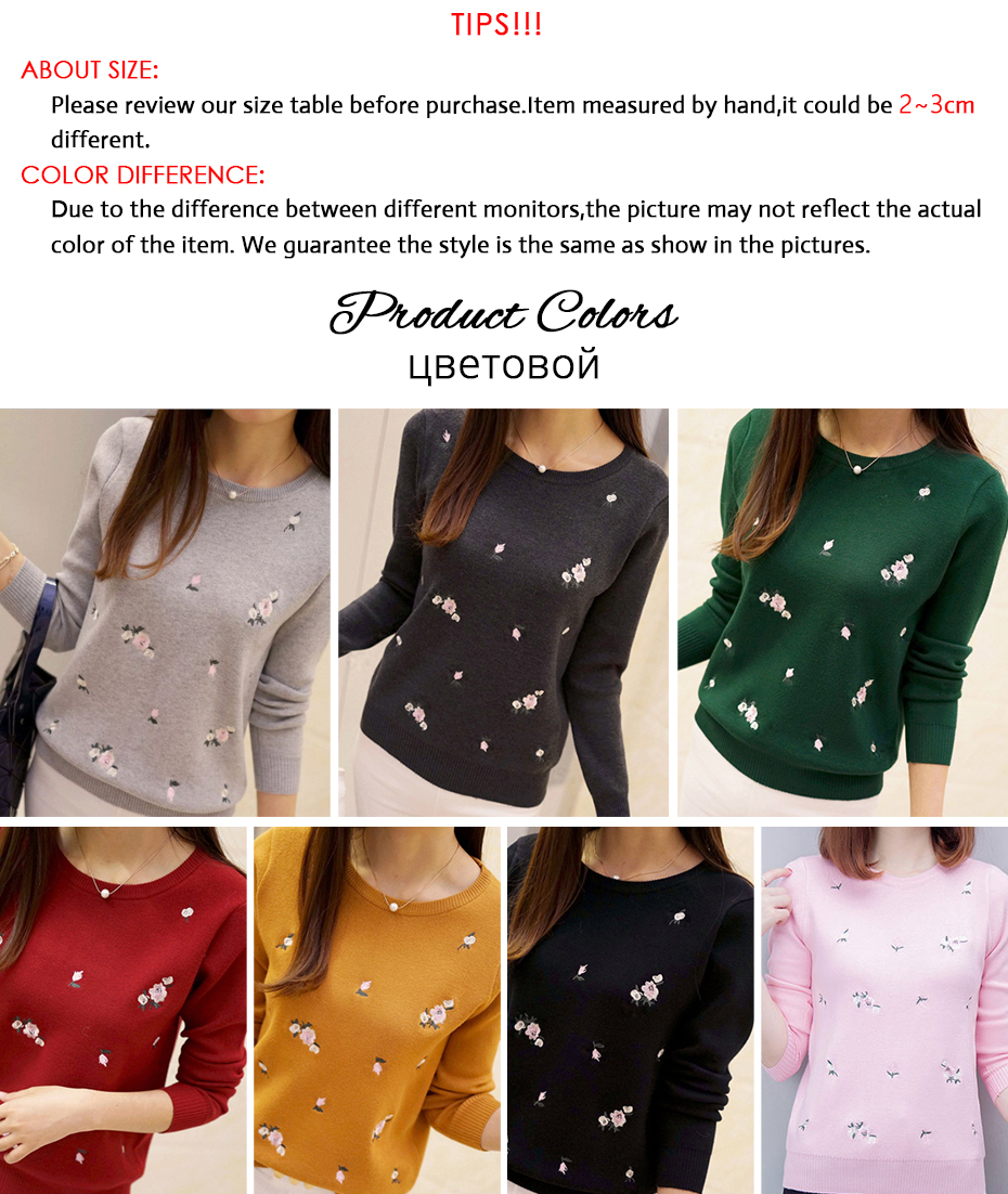 Gogoyouth Women Tricot Jersey Jumper Sweaters