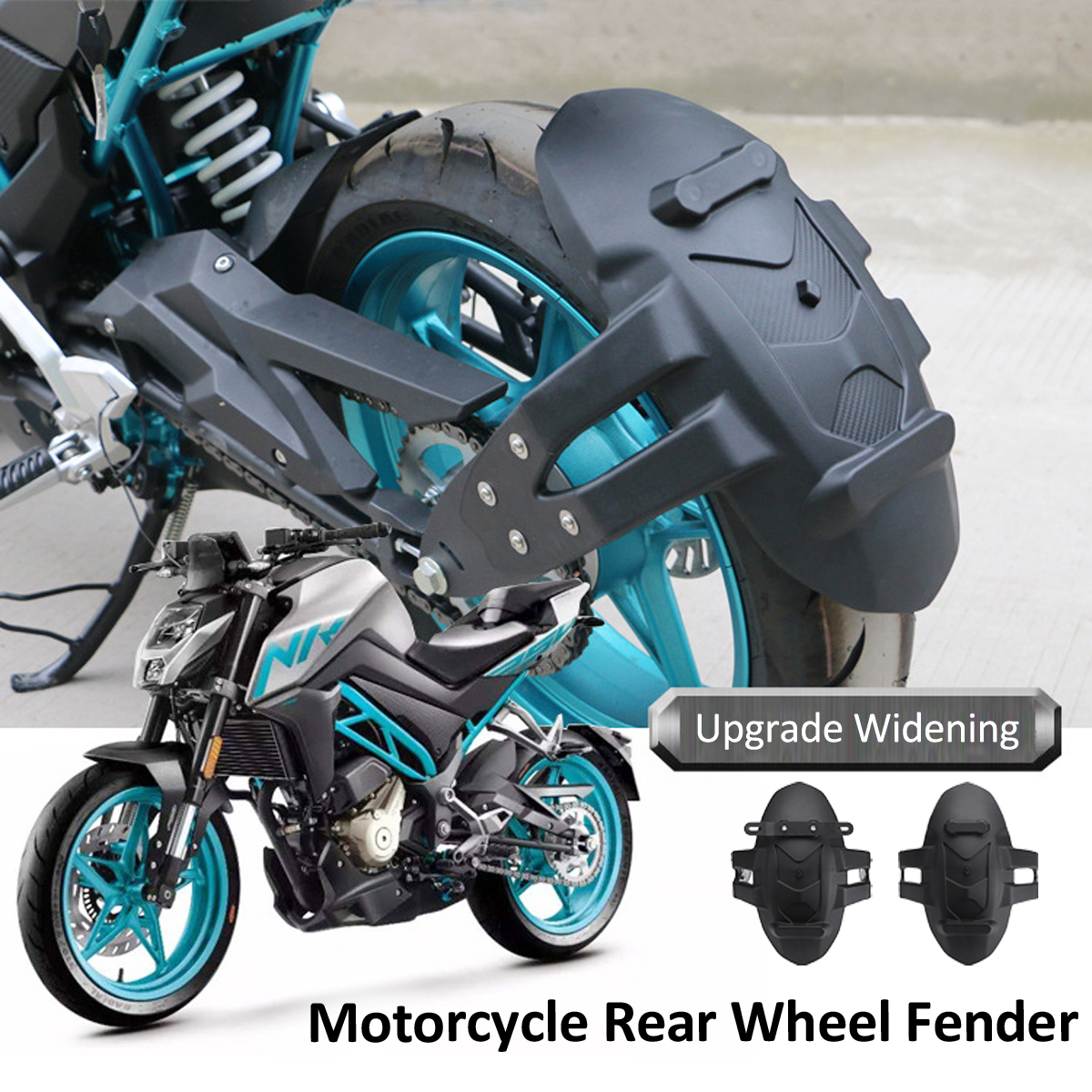 Universal Motorcycle Rear Fenders Flare Mud Flap Mudguard Splash Guard Black Motorcycle Rear Mudguard Fenders Motorcycle Part смартфон apple iphone 6s розовое золото 4 7 32 гб wi fi gps 3g lte nfc mn122ru a