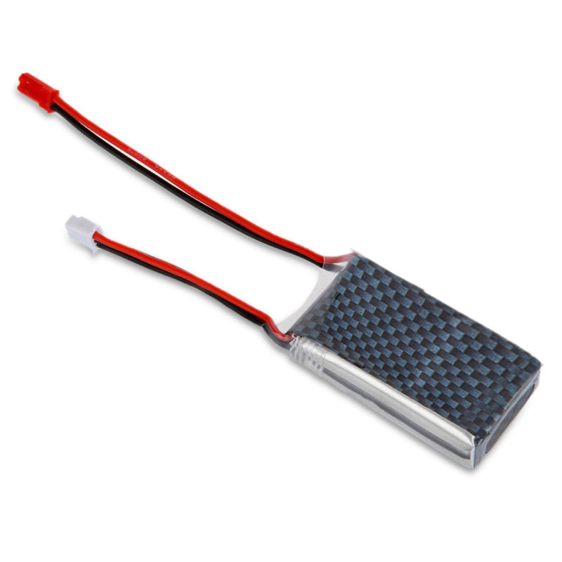 7.4V <font><b>1000mAh</b></font> <font><b>2S</b></font> 20C <font><b>Lipo</b></font> RC Battery JST for RC Helicopter RC e RC Hobby image