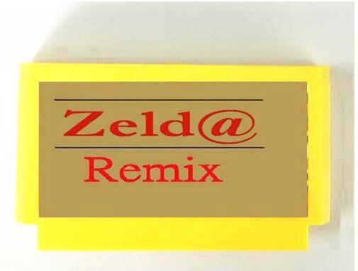 Zeld @ Remix 6 в 1 NTSC и PAL, английский и японский FC60Pins игры-картридж для FC8Bit консоли