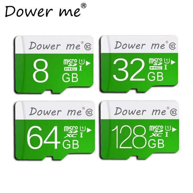 100% реальная емкость Class 10 высокое Скорость карты памяти Micro SD карты 64 ГБ 32 ГБ 16 ГБ 8 ГБ TF карты Mini памяти карта с упаковки