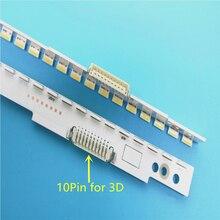 """572 مللي متر LED شريط إضاءة خلفي 60/56 المصابيح لسامسونج 46 """"تلفزيون UA46ES6700 UA46ES7000 2012SVS46 7032NNB UA46ES6100 LE460CSA LTJ460HW05 3D"""