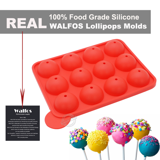 Silicone Cake Pop Mold