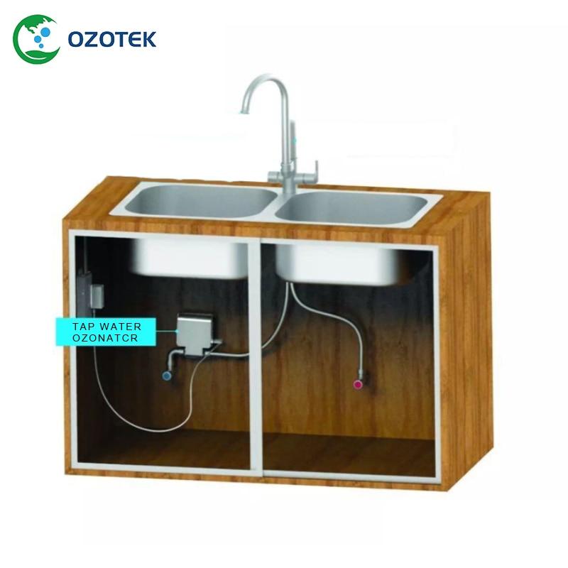 TWO003 CE RoHS ha approvato 100-240 v generatore di ozono acqua di rubinetto per houshold uso