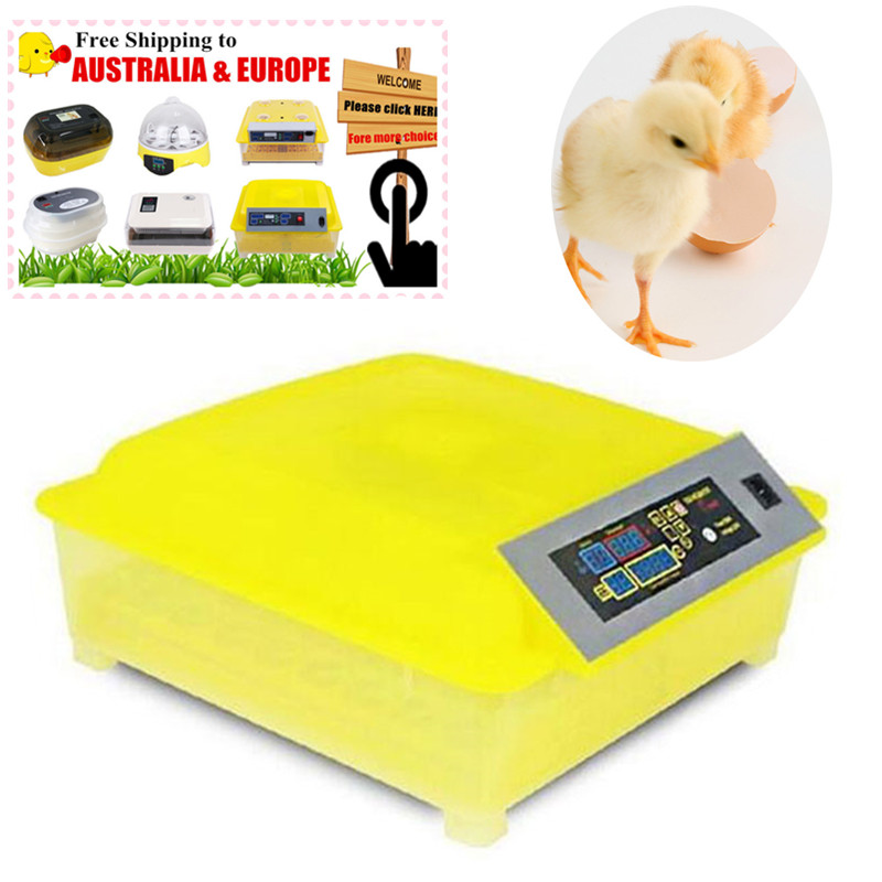 Haushaltsgerät Teile GroßZüGig 48 Eier Inkubator Digitaler Temperatur Brutmaschine Schlupfbrut Huhn Ducks Gänse Geflügel Wachteln Papageien Tauben