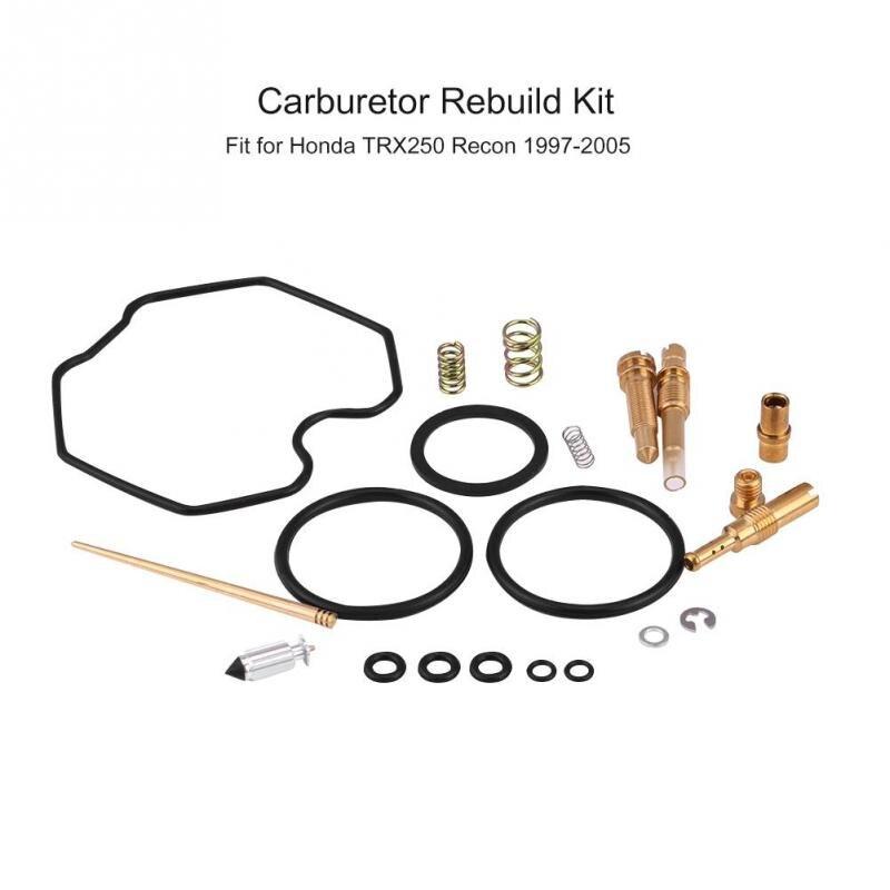 Carburetor Rebuild Kit Carb Repair Tool for Honda TRX250