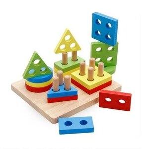 Baby Puzzles Toys Montessori W