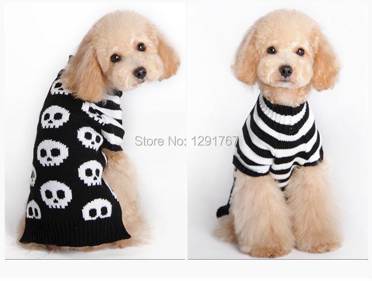 Envío gratis enfriar la cabeza del cráneo diseño de rayas cachorro ...