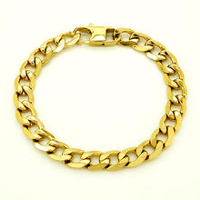 Мужские и женские браслеты золотого цвета браслет из 100% нержавеющей