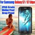 Para samsung galaxy s7 edge/s7 case original redpepper dot série IP68 À Prova D' Água Mergulho Submarino Tampa Do PC + TPU Armadura S725