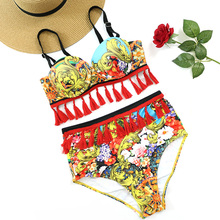 Exotic Boho Tassel Swimsuit