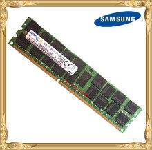Memória ddr3 16 gb 32 gb do servidor de samsung 1600 mhz ecc reg ddr3l PC3L 12800R ram 240pin do dimm do registro 12800 16g 2rx4