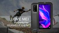 LOVEMEI Powerful Metal Waterproof Cover For Huawei P30 Lite Case Full Body Aluminum ShockProof Defender Phone Case For Nova 4e