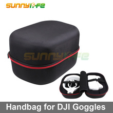 Storage Bag Drone FPV VR Glasses Handheld Bag Travel Case for DJI Goggles