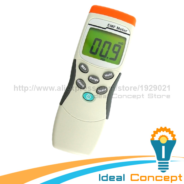 MADE in TAIWAN   Handheld Digital Single Axis Sensor Gaussmeter  EMF ELF Meter 30~300Hz лупа bao workers in taiwan 10