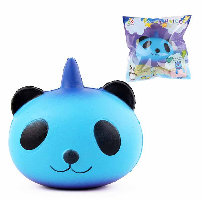 Fun Kid Toy Xmas Cartoon Cake Bun Jumbo 10cm Cute Emoji Colorful Face Panda Squishy Bread Slow Rising Excellent Quality Cellphones & Telecommunications Mobile Phone Straps