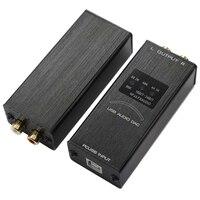USB Display Mini Interface Sound Card Computer Audio Converter Decoder Home Portabe External Adapter Digital KTV