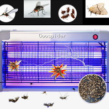Efficient Electronic Insect Killer Trap Buzz UV Lamp Bug Zapper Mosquitoes Moth Fly Mouches Wasp Bee