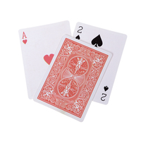 Juego de cartas de tres cartas, juego de cartas de corazón de ciruela, girasoles mágicos clásicos, 3 cartas